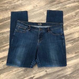 Old Navy The Flirt skinny jeans 14 medium wash